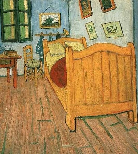 'Quarto em Arles' (1888), de Vincent van Gogh